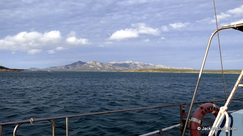 Mount Kerford on Cape Barren Island