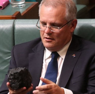 scomo and lump of coal
